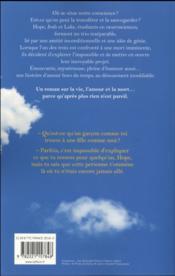 L'horizon à l'envers - 4ème de couverture - Format classique