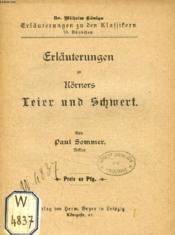 Erläuterungen Zu Körners Leier Und Schwert - Couverture - Format classique