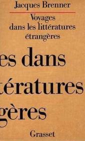 Voyages dans les litteratures etrangeres - Couverture - Format classique
