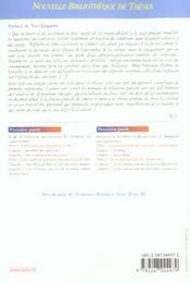 Alteration du consentement et efficacite des sanctions contractuelles - 4ème de couverture - Format classique