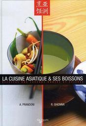 La cuisine asiatique et ses boissons - Intérieur - Format classique