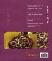 Cuisine du canard et de l'oie - 4ème de couverture - Format classique