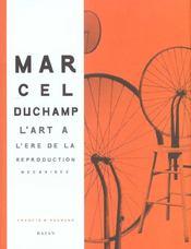 Marcel Duchamp; L'Art A L'Ere De La Reproduction Mecanisee - Intérieur - Format classique