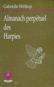 Almanach Perpetuel Des Harpies - Couverture - Format classique