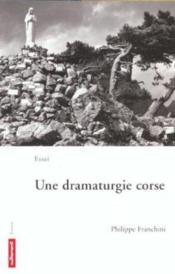 Une Dramaturgie Corse - Couverture - Format classique