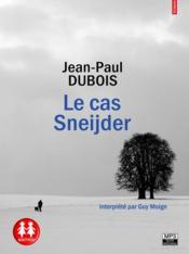 Le cas Sneijder - Couverture - Format classique