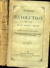 GUERRES DE LA REVOLUTION FRANCAISE ET DU PREMIER EMPIRE - TOME NEUVIEME (sommaire en photo). - Couverture - Format classique