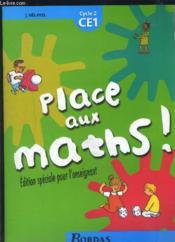 Place Aux Maths Ce1 Cycle 2 - Couverture - Format classique