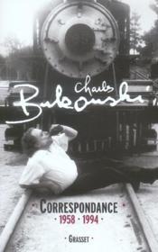 Correspondance ; 1958-1994 - Couverture - Format classique