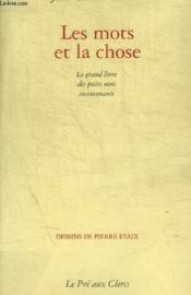 Les Mots Et La Chose - Couverture - Format classique
