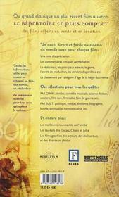 Guide DVD 2008 - 4ème de couverture - Format classique