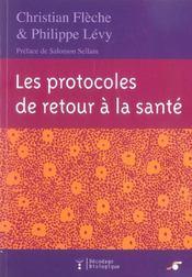 Protocoles de retour a la sante (les) - Intérieur - Format classique