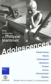 Adolescence - Couverture - Format classique
