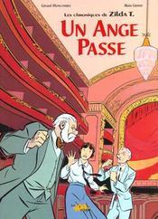 Un Ange Passe : Les Chroniques De Zilda T. - Intérieur - Format classique