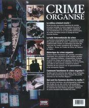 Crime Organise ; Un Guide Complet De L'Industrie La Plus Rentable Du Monde - 4ème de couverture - Format classique