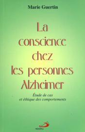 Conscience chez les personnes alzheimer - Couverture - Format classique