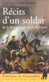 Recits d'un soldat de la republique et de l'empire - Intérieur - Format classique