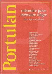 Mémoire juive mémoire negre ; deux figures du destin - Intérieur - Format classique
