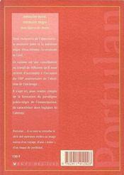 Mémoire juive mémoire negre ; deux figures du destin - 4ème de couverture - Format classique