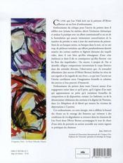 Olivier bernex, léo ferré ; de toutes les couleurs - 4ème de couverture - Format classique