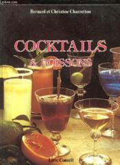 Cocktails et boissons - Couverture - Format classique