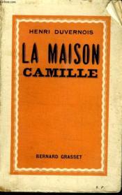 La Maison Camille. - Couverture - Format classique