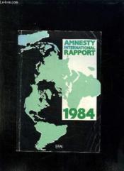 Amnesty International Rapport. 1984. - Couverture - Format classique
