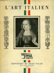 L'Art Italien - Couverture - Format classique