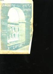 SOCIETE DE L'ART DE LIBOURNE 3eme exposition. - Couverture - Format classique