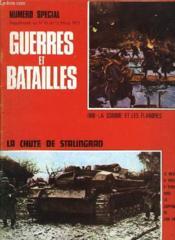 Guerres Et Batailles - N°13 Supplement - La Chute De Stalingrad - Couverture - Format classique