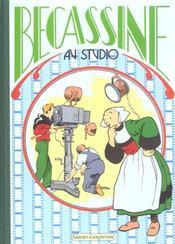 Bécassine au studio - Intérieur - Format classique