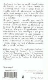 Cycle de Tristan de Castelreng t.7 ; les spectres de l'honneur - 4ème de couverture - Format classique