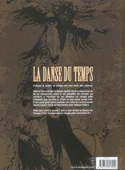 La danse du temps t.2 ; l'arme des demons - 4ème de couverture - Format classique