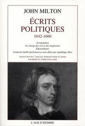 Écrits politiques (1642-1660) - Intérieur - Format classique