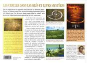 Les cercles dans les blés et leurs mystères - 4ème de couverture - Format classique