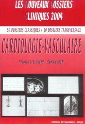 Cardiologie vasculaire - Intérieur - Format classique