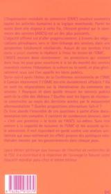 Omc, Agcs, Vers La Privatisation De La Société ? - 4ème de couverture - Format classique