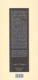 Le Silence Des Aigles - 4ème de couverture - Format classique