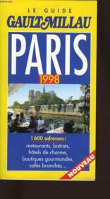 Paris 1998 - Couverture - Format classique
