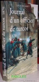 Journal D'Un Officier De Turcos 1870 - Couverture - Format classique