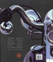 Le Mythe Harley Davidson T.1 - 4ème de couverture - Format classique