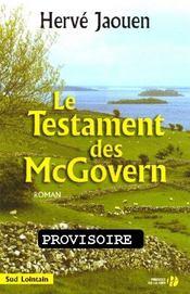 Le testament des mcgovern - Intérieur - Format classique