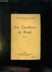 Son Excellence Le Bouif. - Couverture - Format classique