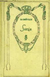 Sonia. - Couverture - Format classique