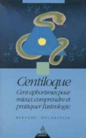 Centiloque - Couverture - Format classique