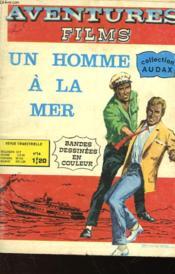 Aventures Films - Un Homme A La Mer - N°14 - Couverture - Format classique