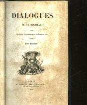 Dialogues - Tome 2 - Couverture - Format classique