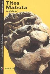Titos Mabota sculpteur - Couverture - Format classique