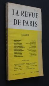 La revue de Paris, janvier 1963 (70e année) - Couverture - Format classique
