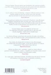 Revue La Regle Du Jeu N.28 - 4ème de couverture - Format classique